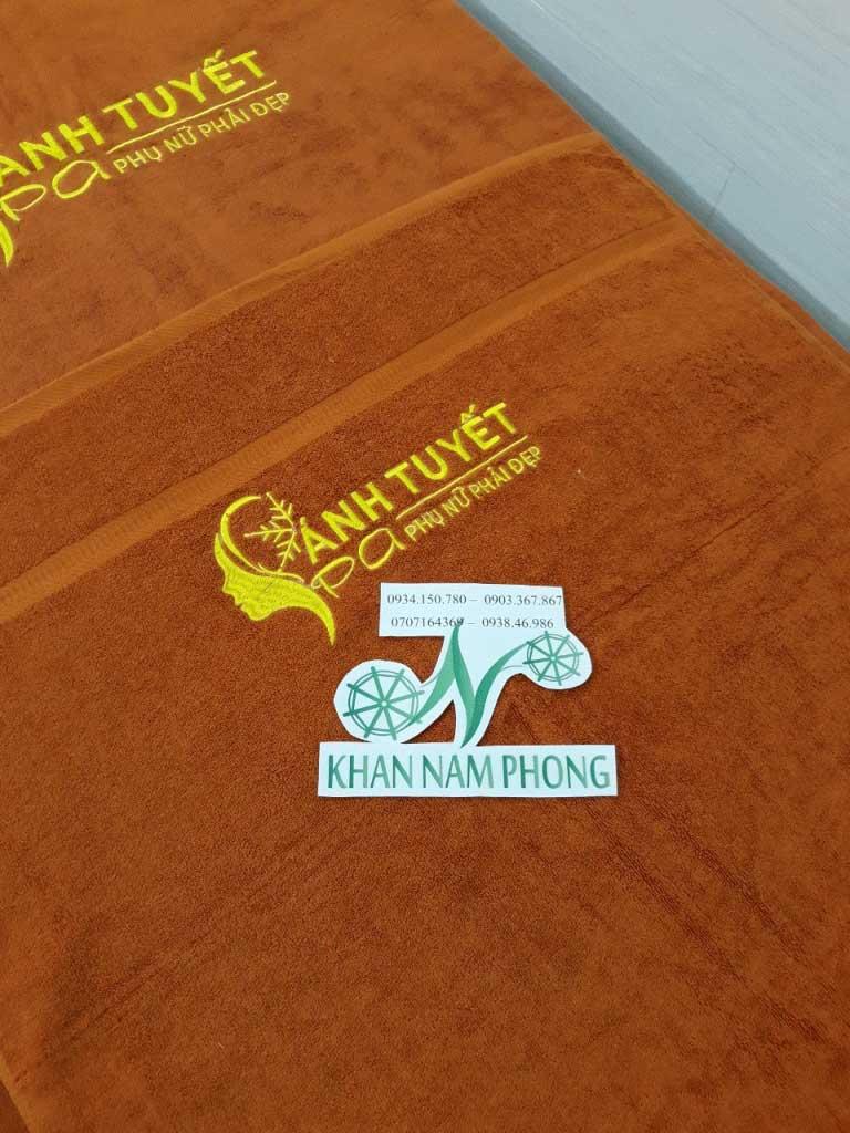 Mẫu khăn body Ánh Tuyết (Da Bò- Cotton)