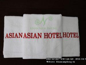 Khăn cho khách sạn Khăn Asian Hotel