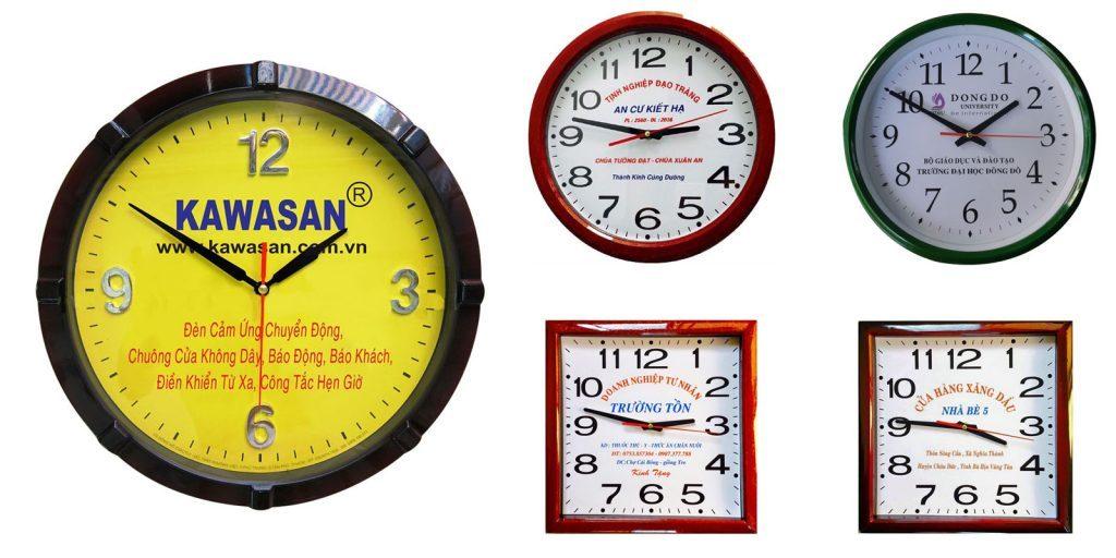 Đồng hồ treo tường - quà tặng sự kiện ý nghĩa cho doanh nghiệp