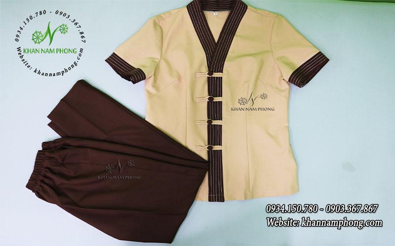 Đồng phục Spa Cao Cấp | Khan Nam Phong