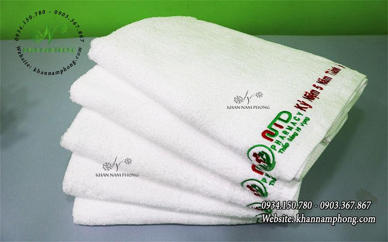 khăn Phamacity Cotton trắng