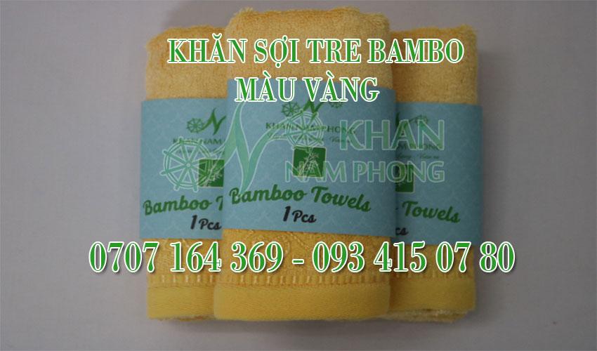 Khăn Sợi Tre BamBo Nam Phong