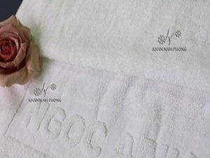 khăn spa của Ngọc Anh Spa màu trắng chất liệu Cotton