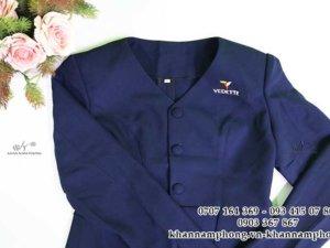 đồng phục spa của Vedette gồm: đồng phục tiếp nhiên, đồng phục nhân viên, áo blouse