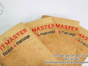 khăn tay của Fit Master màu nâu nhạt chất liệu cotton