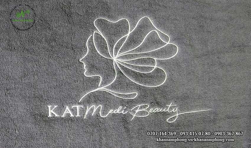 Mẫu khăn body KATMedi Beauty (Xám - Cotton)