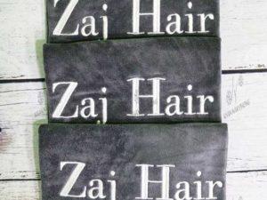 Khăn Salon tóc của Zaj Hair chất liệu Microfiber màu xám