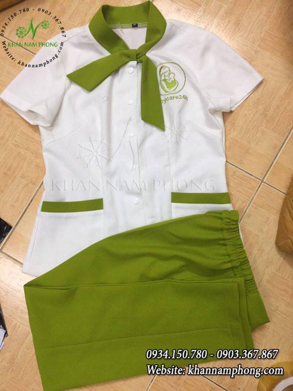 Áo đồng phục Spa của Nam Phong
