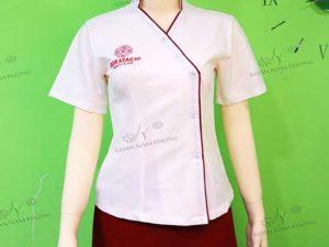 Đồng phục Sap của Reikatachi màu trắng và đỏ