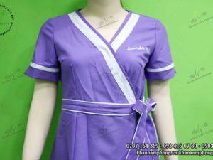 Đồng phục Spa của Lavender màu tím