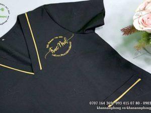 Đồng phục của Trúc Nails màu đen