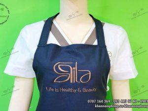 Tập dề cảu Aila Healthy & Beauty chất liệu cototn japan