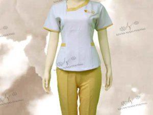 Đồng phục spa của Lê Yến nails & beauty