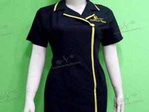 Đầm đồng phục spa của Skim Home Spa