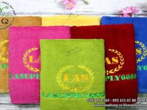 Khăn tắm Cotton LASUPPLY 6688 nhiều màu