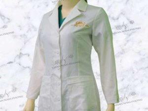 Áo blouse The Hari Beauty & Spa thêu logo