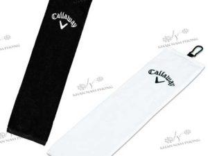 Khăn lau gậy golf chât liệu cotton thêu logo
