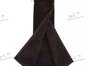 Khăn lau gậy golf màu đen, chất liệu cotton