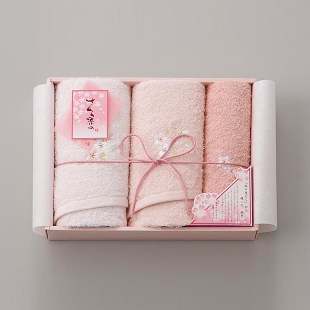 Set khăn quà tặng - Quà tặng 8/3 cho khách hàng cực kì nổi bật