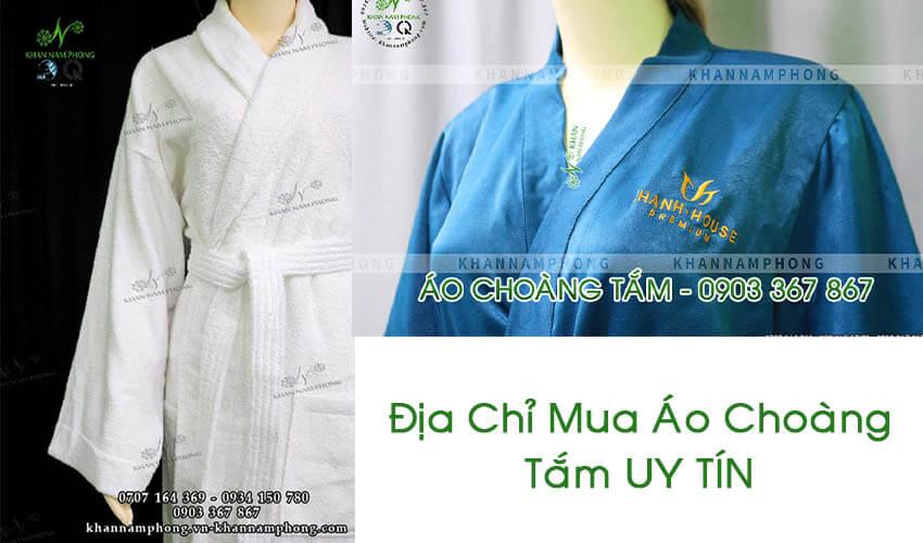 Khăn Nam Phong - Địa chỉ bán áo choàng tắm khách sạn uy tín